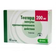 Теотард капсулы 200 мг №40