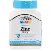 21st Century, 21 Век Цинк 50 мг, 110 таблеток