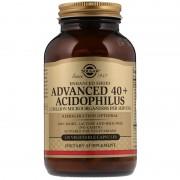 Solgar, Солгар Улучшенный ацидофилус 40+, 120 вегетарианских капсул