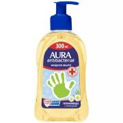Aura Мыло антибактериальное с алоэ 300мл