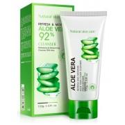 BioAqua пенка для умывания с экстрактом Aloe Vera 92%, 100 г